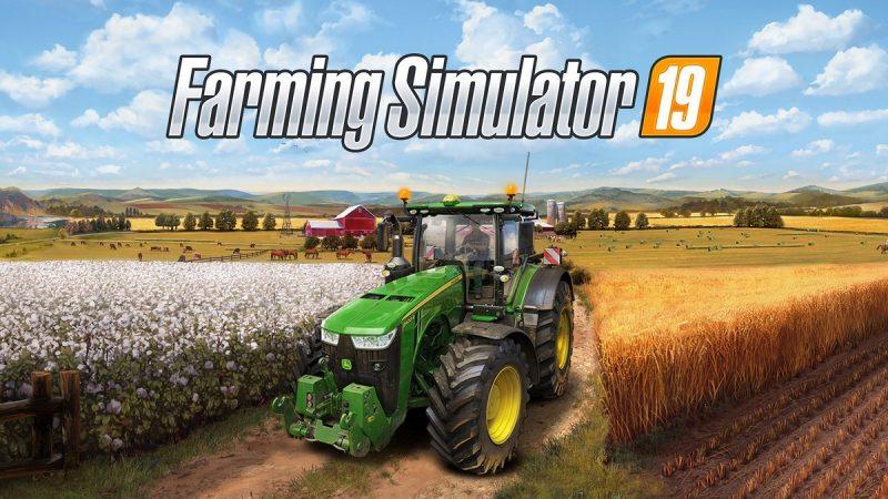 Показаны обложки к коробочным изданиям Farming Simulator 19