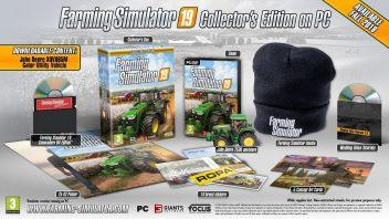 Раскрыто содержимое коллекционного издания Farming Simulator 19