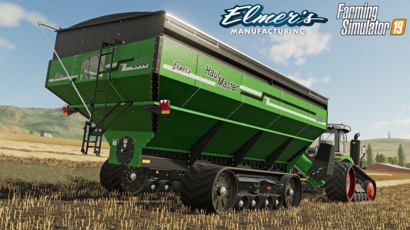 В Farming Simulator 19 добавят технику бренда Elmer's Manufacturing Haulmaster