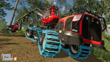 Техника для заготовки леса Komatsu Forest появится в Farming Simulator 19