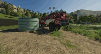 Placeable Liquid Fertilizer Tank