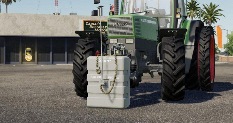 Suer 800 KG weight
