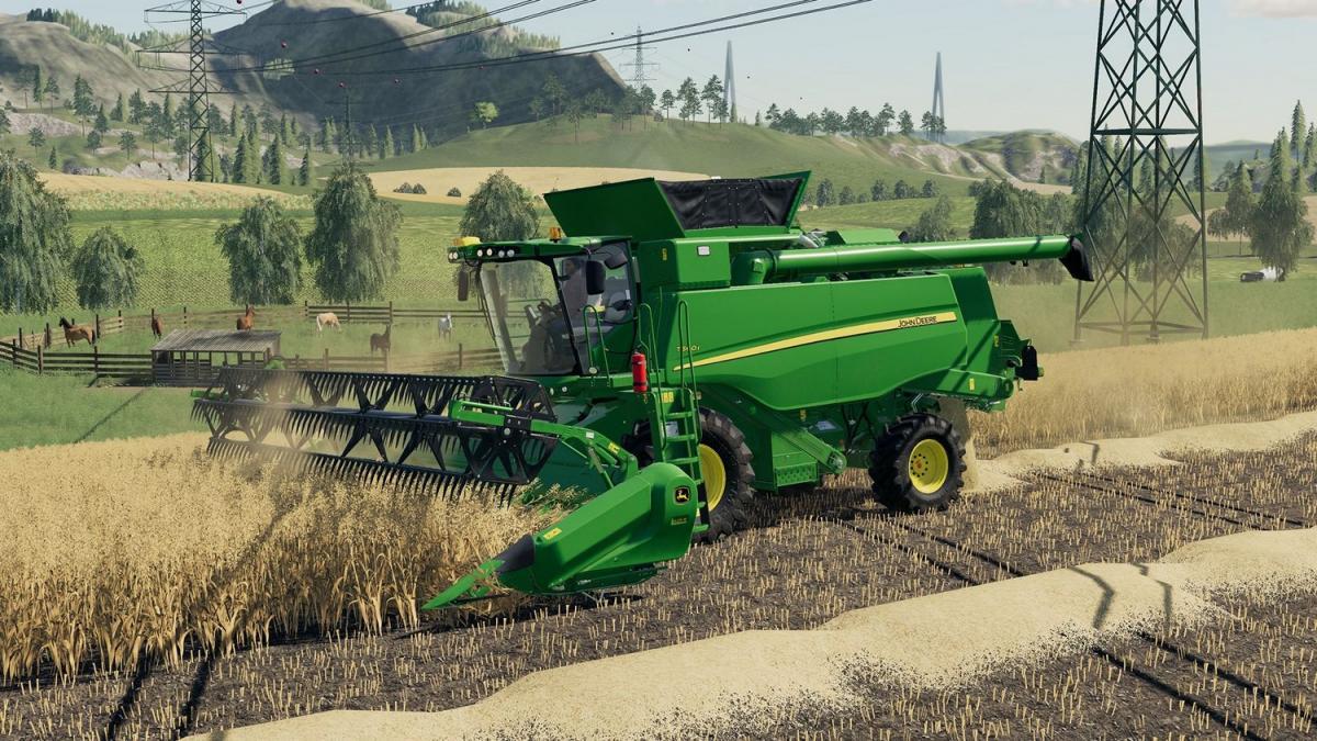 Farming simulator 19 центральный зерновой элеватор транспортер за 1 час поднимает 30 м3