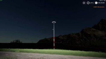 Фонарный столб Floodlight