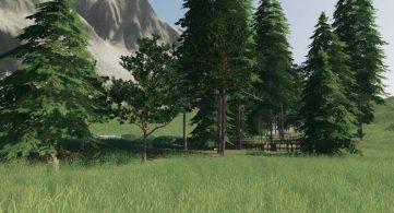 Улучшенные текстуры деревьев для Farming Simulator 2019 – Скриншот 4