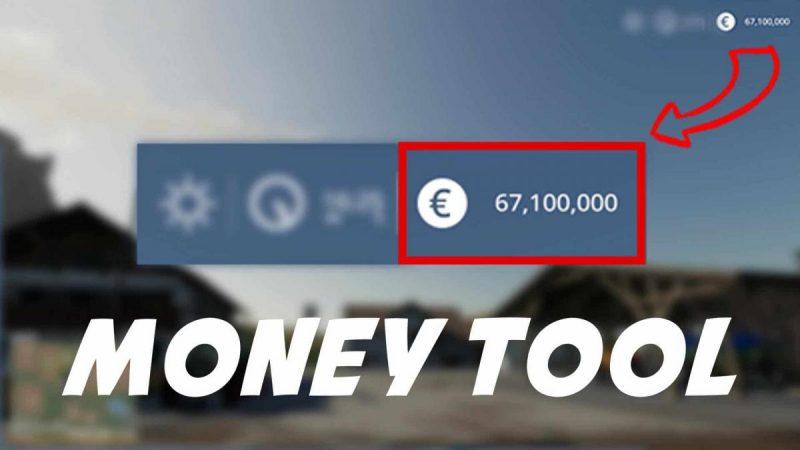 Мод на деньги Money Tool для Farming Simulator 19