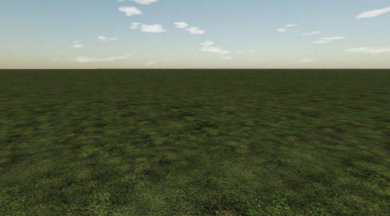 Clean map (чистая карта)