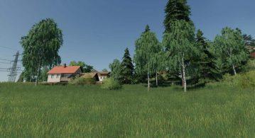 Улучшенные текстуры деревьев для Farming Simulator 2019 – Скриншот 3