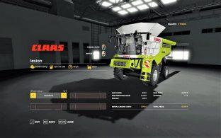 Claas Lexion 780 – Скриншот 1