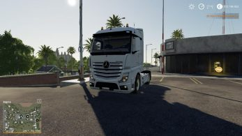 Mercedes Actros MP4 – Скриншот 2