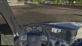 Mercedes Actros MP4 – Скриншот 1
