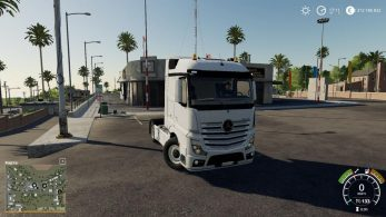 Mercedes Actros MP4 – Скриншот 4