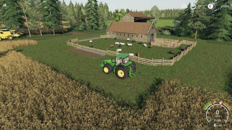 Как разводить овец в Farming Simulator 19