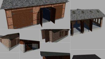 Пак на здания Gebaude – Скриншот 5