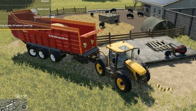 свиньи в Farming Simulator 19