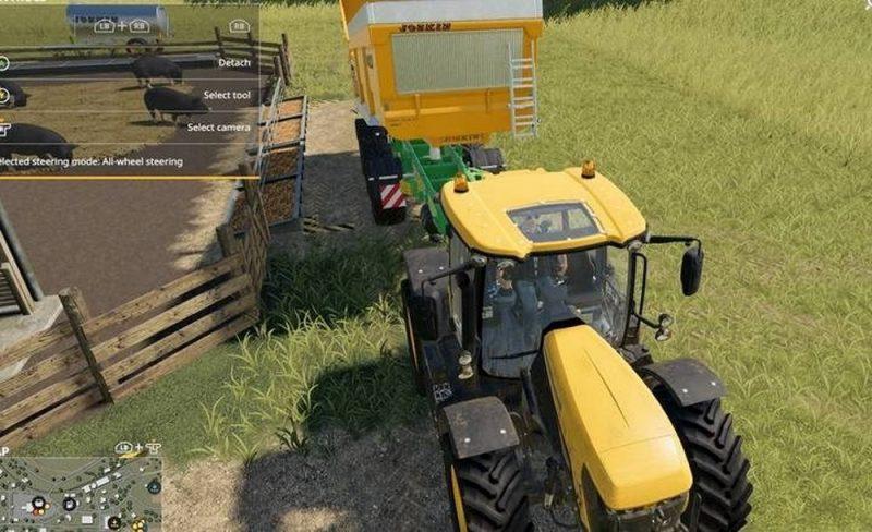 свиньи в Farming Simulator 19
