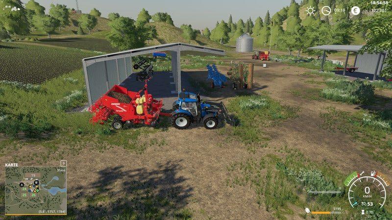 Vehicle Fruit Hud