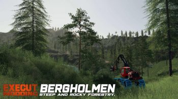 Bergholmen Hardcore Forestry – Скриншот 2