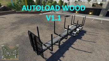 Timber Runner Wide With Autoload Wood – Скриншот 5