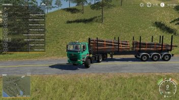 Timber Runner Wide With Autoload Wood