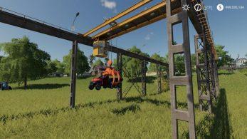Железнодорожный кран – Скриншот 3