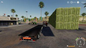 Fliegl Flatbed squarebale autoload – Скриншот 3