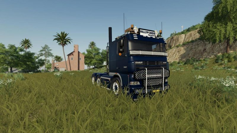 DAF XF 105 Tuned Truck