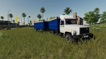 ГАЗ-35071 и САЗ-83173