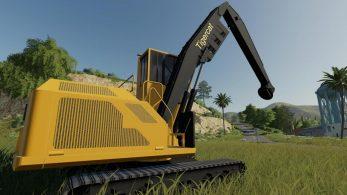 FDR Logging – Tigercat 880 – Скриншот 3
