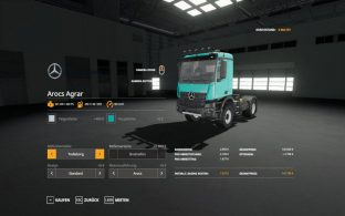 Mercedes Arocs Agrar – Скриншот 4