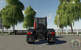 Mercedes Arocs Agrar – Скриншот 1
