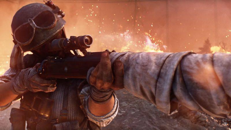 EA назвала дату появления в Battlefield V королевской битвы и показала зрелищный трейлер