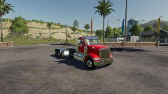 Western Star 4900 SB Day Cab Hooklift – Скриншот 3
