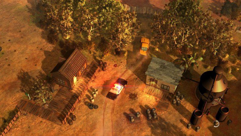 Показан геймплей изометрической GTA – American Fugitive