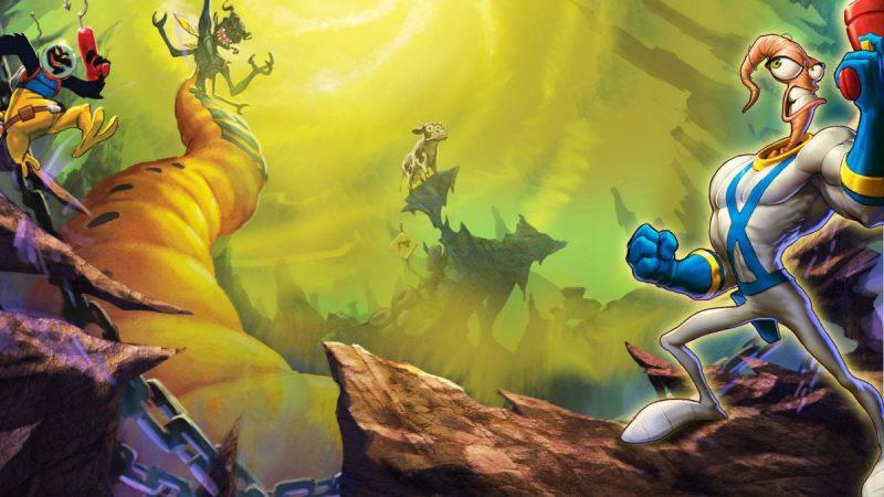Создатели серии Earthworm Jim трудятся над продолжением