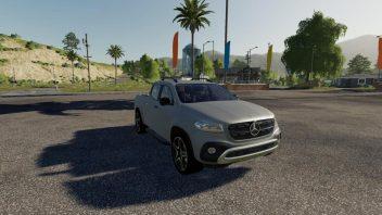 Mercedes X class
