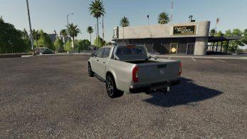 Mercedes X class – Скриншот 1