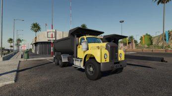 Mack B61 Dump and Trailer – Скриншот 5