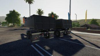 Mack B61 Dump and Trailer – Скриншот 4