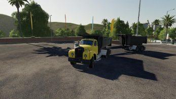 Mack B61 Dump and Trailer – Скриншот 2