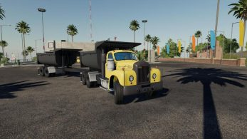 Mack B61 Dump and Trailer – Скриншот 1