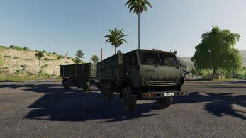 Камаз-4310 Truck – Скриншот 1